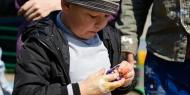 Фото с места события собственное. Дети и жильцы прилегающих домов помогли создать космический мир. Автор фото: РИА PrimaMedia, Валерия Кузора. 29 из 29