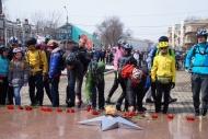 Фото с места события собственное. Велосипедисты почтили память погибших. Автор фото: Алина Матвеева. 10 из 19