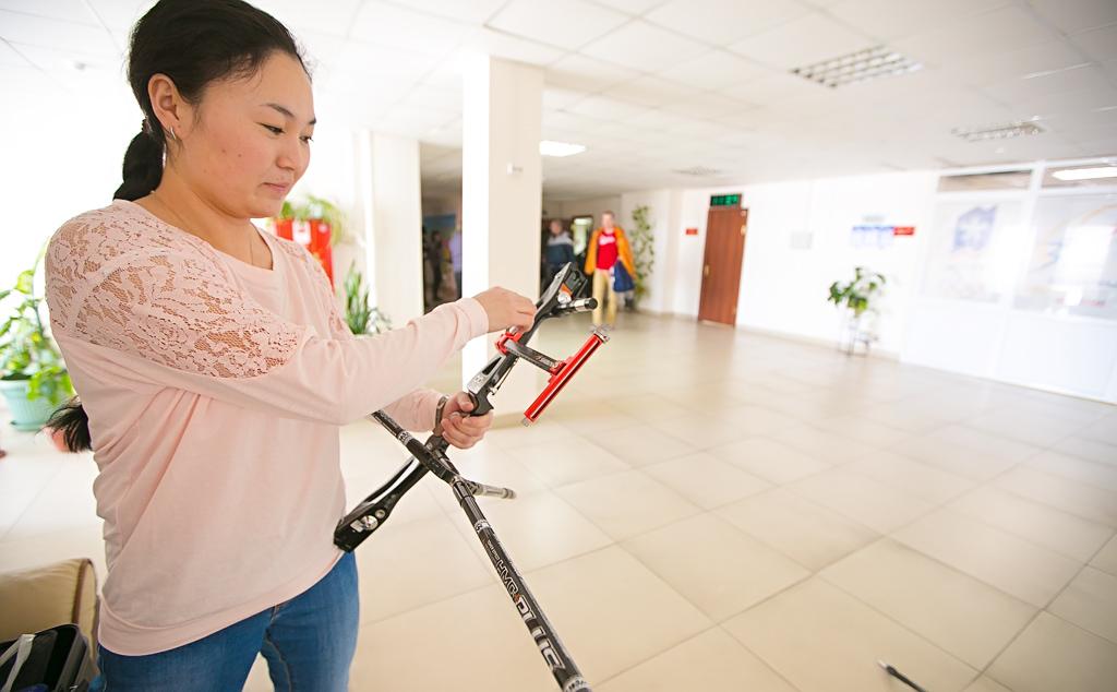 Инваспорстменам-лучникам не хватает места для тренировок в Бурятии — Цыденбал Цыренжапов, Фото с места события собственное